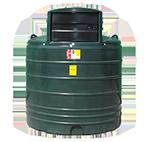 round tank green